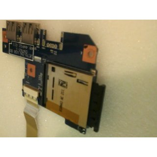 JE70-DN USB BD 09762-1 48.4HP02.011 USB/ Cardreader Board