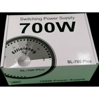 Inter-Tech SL-700 Plus Netzteil 700 W 20+4 pin ATX ATX Silber
