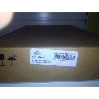 S26391-F2477-T121 Keyboard Pine C D für FSC Lifebook NEU
