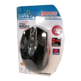 opt. Mouse 1000 DPI / 3-Tasten Maus mit Scroll- Rad / USB - Kabel - Mouse